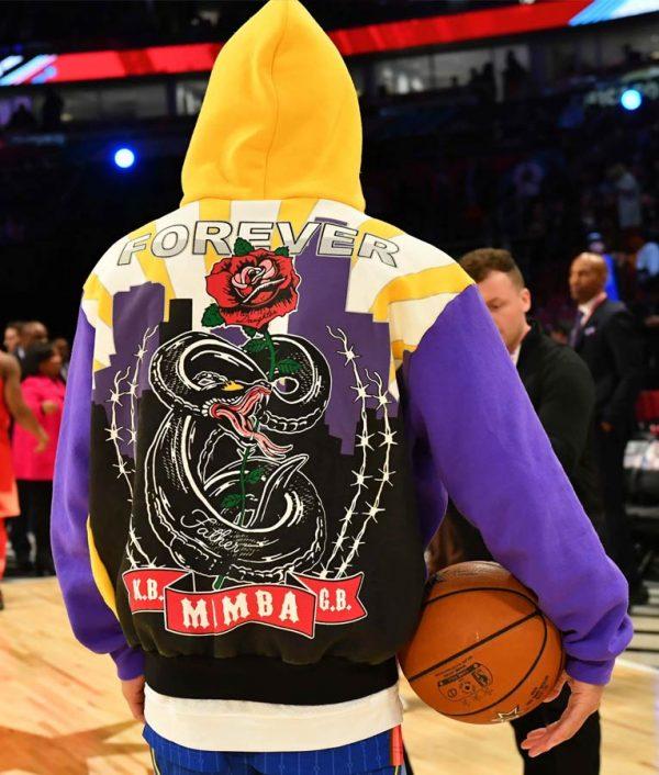 Devin Booker Lakers Kobe Hoodie