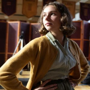 Annette Packer The Queen's Gambit Eloise Webb Wool-blend Sweater