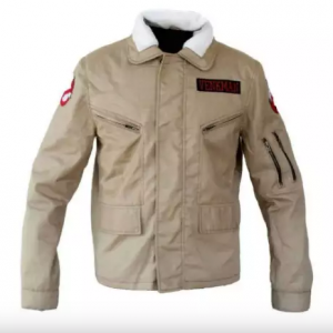 Kate Mckinnon Ghostbusters Afterlife Brown Leather Jacket