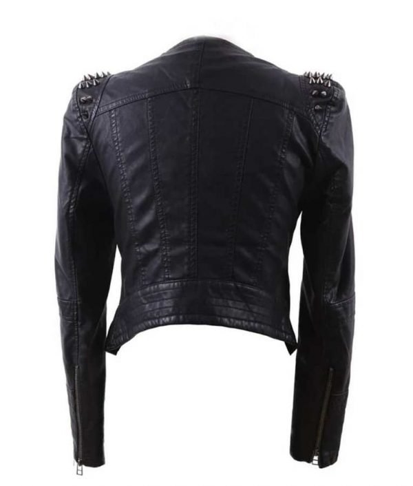 TV Series Real Housewives of Potomac S05 Wendy Osefo Black Studded Leather Jacket