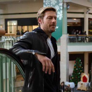 Jackson Holidate 2020 Luke Bracey Black Leather Jacket