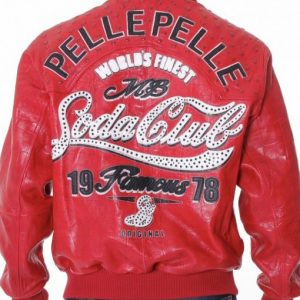 Soda Club Pelle Pelle Leather Jacket