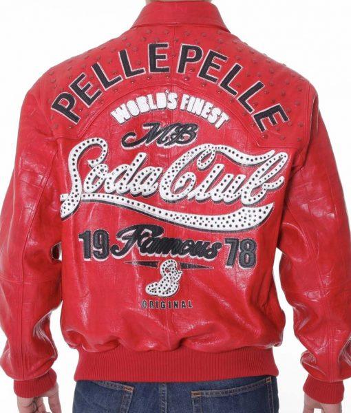 Soda Club Pelle Pelle Leather Jacket