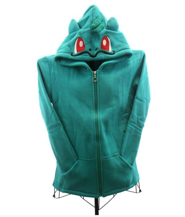 Pokemon Bulbasaur Zip up Hoodie
