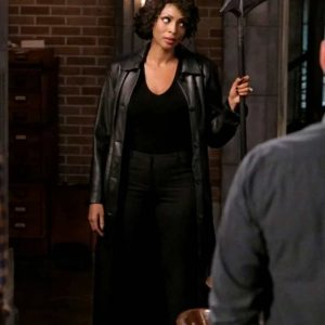 Supernatural Season 15 Lisa Berry Coat