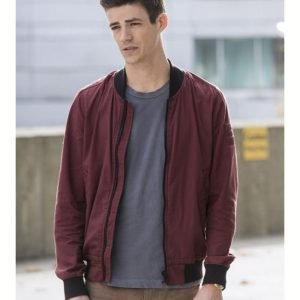 Barry Allen The Flash S06 Bomber Jacket