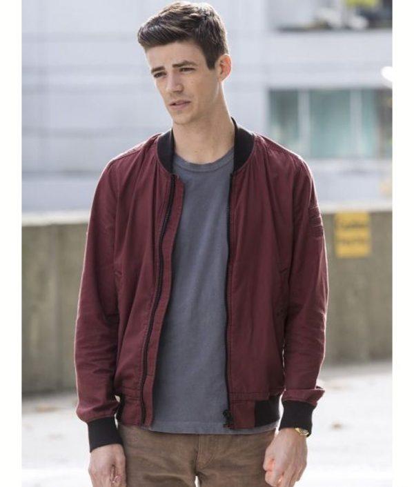 Barry Allen The Flash S06 Bomber Jacket