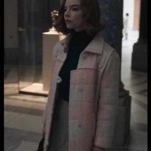 Beth Harmon Pink Coat