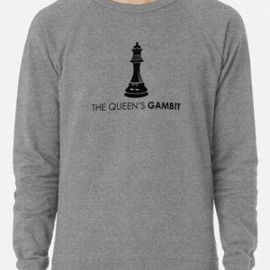 Mens and Women The Queen's Gambit Grey Sweatshirt