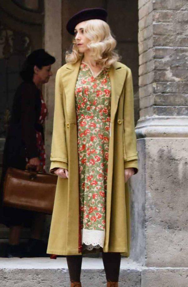 Virginia Hall A Call To Spy Megan Thomas Sarah Trench Coat