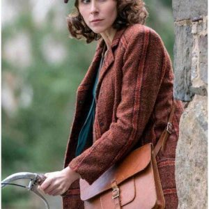 Sarah Megan Thomas A Call to Spy Virginia Hall Trench Brown Coat