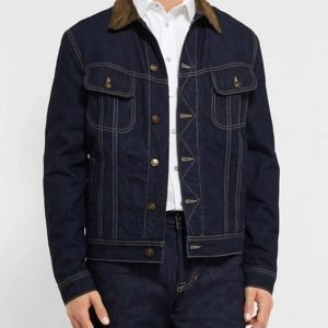 Kingsman The Golden Circle Denim Jacket Agent Tequila Jacket