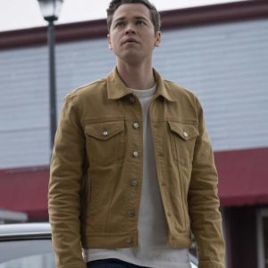 Alexander Calvert TV Series Supernatural Season 15 Jack Jacket