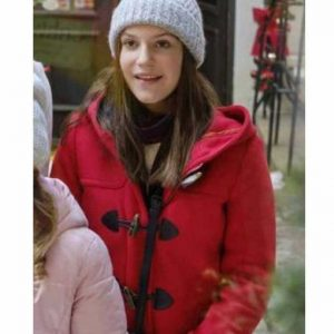 Allegra Tinnefeld Christmas in Vienna Red Coat with Hood