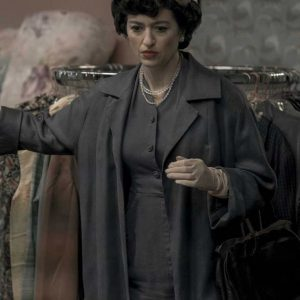 Alma Wheatley The Queen's Gambit Marielle Heller Long Coat