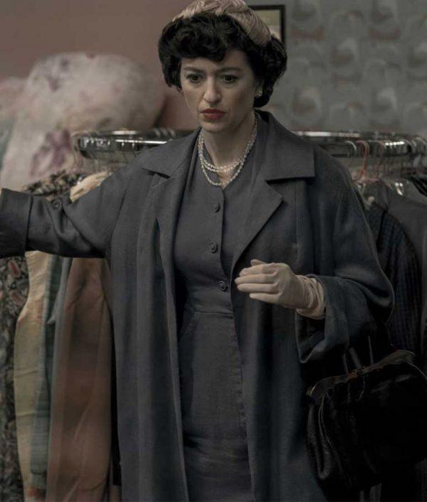 Alma Wheatley The Queen's Gambit Marielle Heller Long Coat