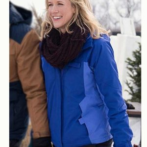 Amazing Winter Romance Jessy Schram Jacket