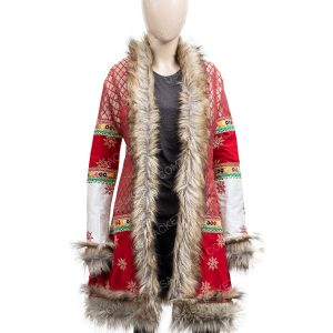 Anna Kendrick Noelle Shearling Coat