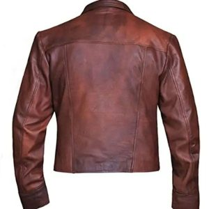 Jason Momoa Aquaman Justice League Brown Leather Jacket