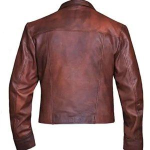 Jason Momoa Aquaman Justice League Brown Leather Jacket