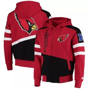 Arizona Cardinals Full-Zip Hoodie