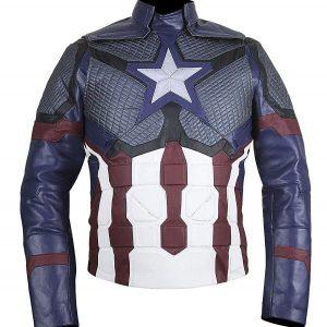 Avengers Endgame Leather Jacket Chris Evans Jacket