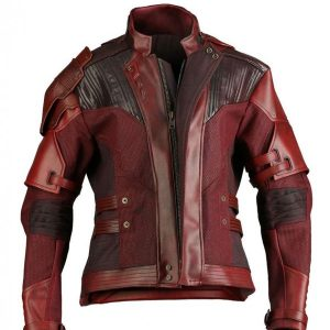 Cris Pratt Avengers Infinity War Jacket Peter Quill Leather Jacket