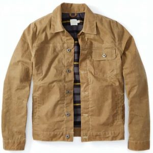 Big Sky Ryan Phillippe Jacket | Cody Hoyt Brown Cotton Jacket