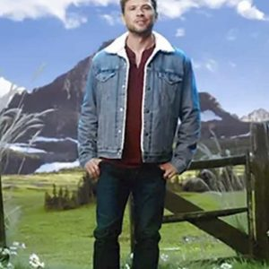 Cody Hoyt Big Sky Jacket | Ryan Phillippe Blue Denim Jacket
