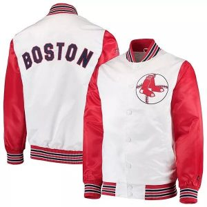 Boston Red Sox The Legend White and Red Jacket
