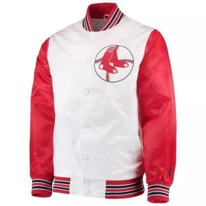 Boston Red Sox White and Red The legend Jacket For Mens