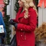Candace Livingstone Entertaining Christmas Jodie Sweetin Red Coat