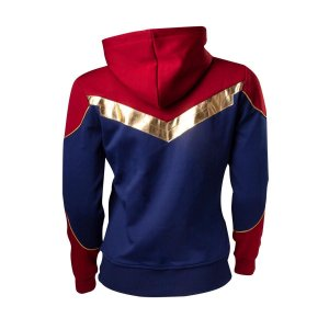 Captain Marvel Hoodie Carol Danvers Costume Hoodie