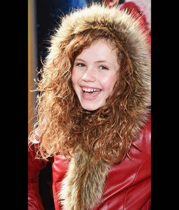 Darby Camp The Christmas Chronicles 2 Kate Red Leather Coat