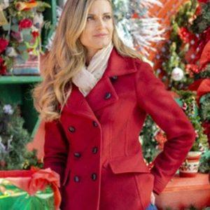 Brooke D orsay Christmas in Love Ellie Hartman Red Coat