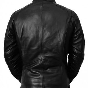 The Classic Batman Lego Black Lather Jacket Batman Leather Jacket