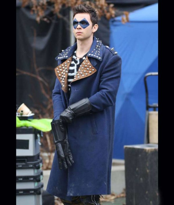 The Trickster The Flash Devon Graye Coat with Studs