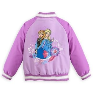 Anna Disney Frozen Varsity Jacket
