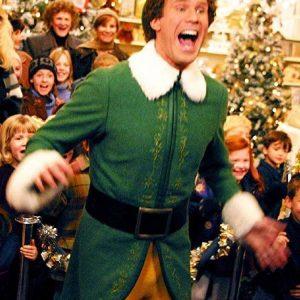 Elf Will Ferrell Green Coat