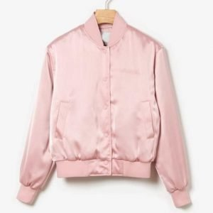 Emily In Paris Emily Cooper Pink Bomber Jacket