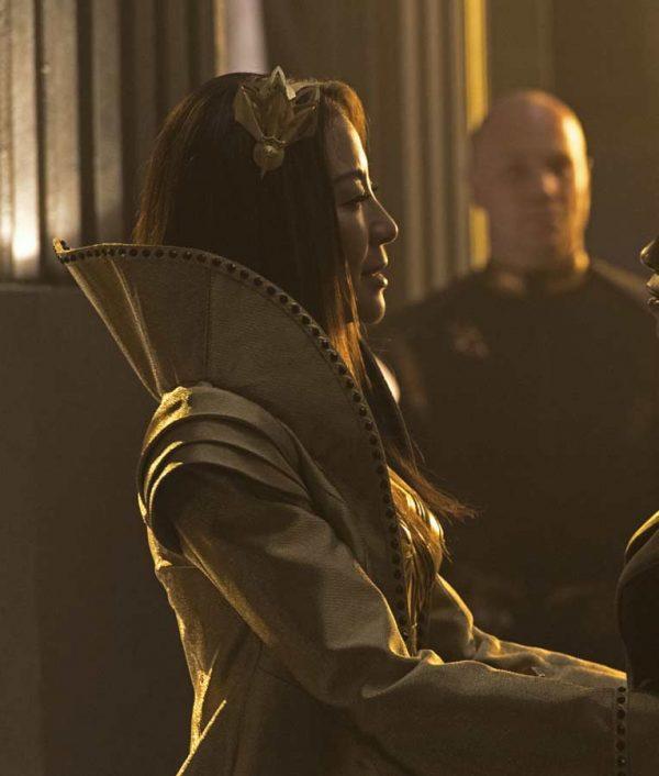Michelle Yeoh Star Trek Discovery Coat