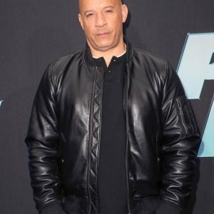 Vin Diesel Fast & Furious 9 Dominic Toretto Black Leather Jackets