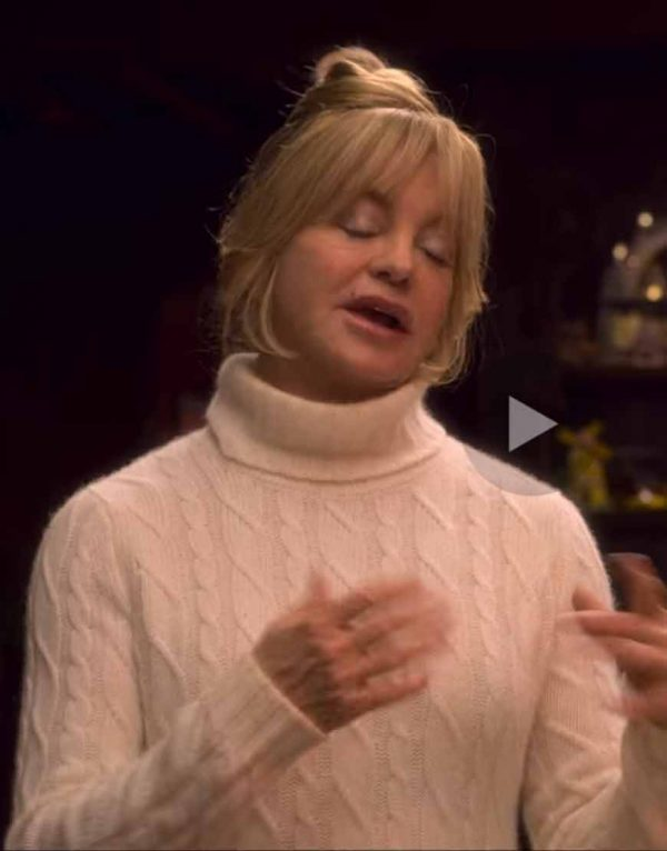 The Christmas Chronicles 2 Goldie Hawn Sweater