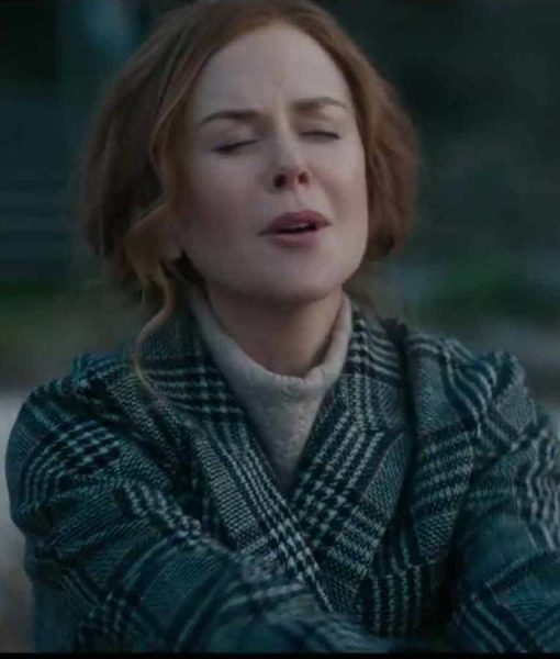 Grace Sachs Nicole Kidman The Undoing Checked Coat