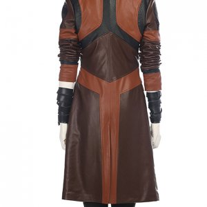 Guardains of the Galaxy 2 Gamora Leather Jacket Gamora Trench Coat1