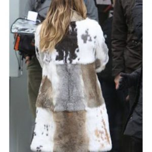 Kelsey Peters Younger Season 7 Hilary Duff Mixed Fur Coat