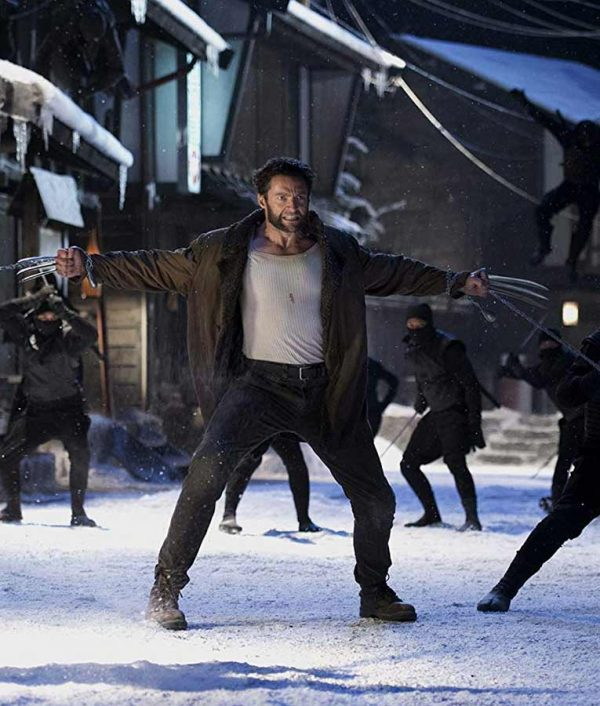 Hugh Jackman The Wolverine Leather Shearling Coat1