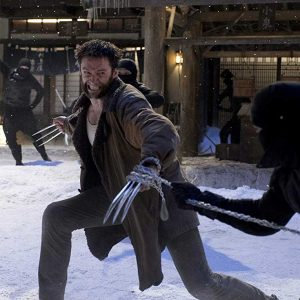 Hugh Jackman The Wolverine Leather Shearling Coat