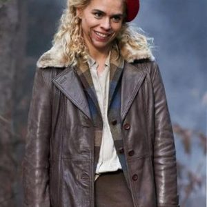 I Hate Suzie Billie Piper Leather Coat