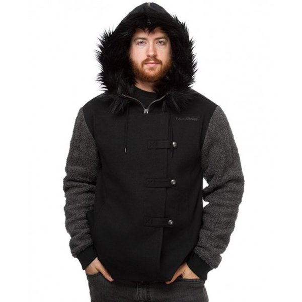 Jon Snow Game of Thrones Kit Harington Fur Hoodie